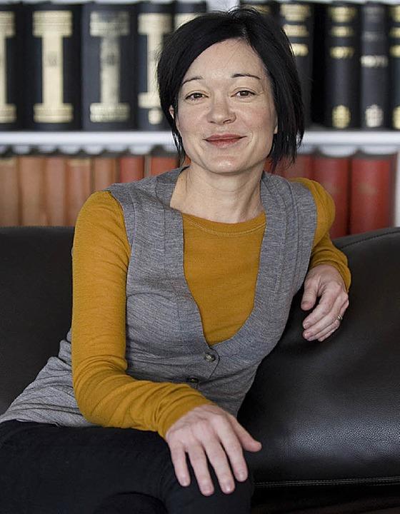 Sue Gardner, Geschäftsführerin der Wikimedia Foundation   | Foto:  dpa