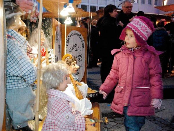 Gute Stimmung herrschte beim Weihnachtsmarkt in dr Innenstadt. Den Besuchern wurde für Augen, Ohren und Gaumen etwas geboten.