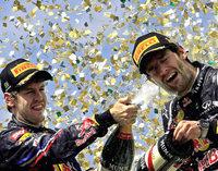 Ein kleiner D�mpfer zum Abschluss f�r Sebastian Vettel