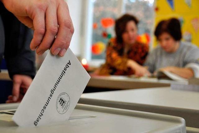 Lörrach wählt gegen den Landestrend