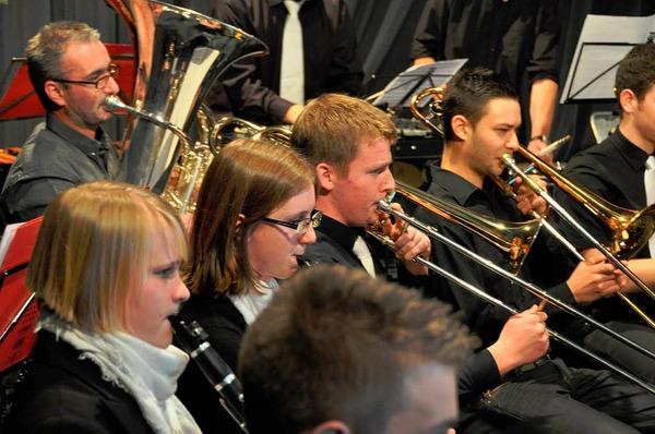 Impressionen von der Verleihung der Leistungsabzeichen und dem Konzert des Verbandsjugendorchesters