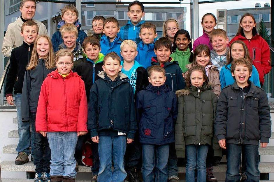 Die Klasse 4 der Grund- und Hauptschule St. Märgen. (Foto: BZ)