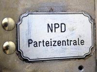NPD-Verbot: Papier mahnt Sorgfalt an