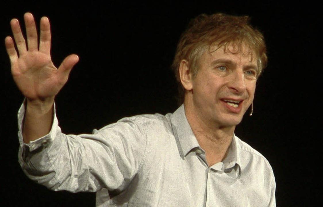 Über die Freuden und Leiden der neuen ... Lück im Bad Säckinger Gloria-Theater.    Foto: roswitha frey
