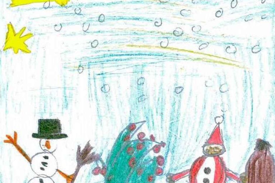 Von Justin, 11 Jahre aus der Ignaz-Heim Schule in Renchen (Foto: BZ)