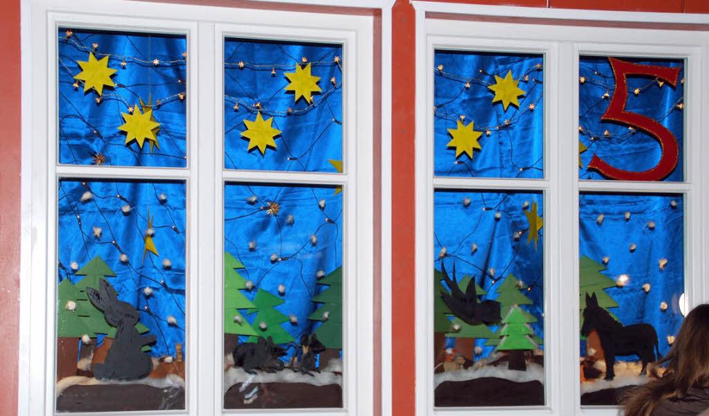 Fenster gestalten - Fenster weihnachtlich gestalten ...