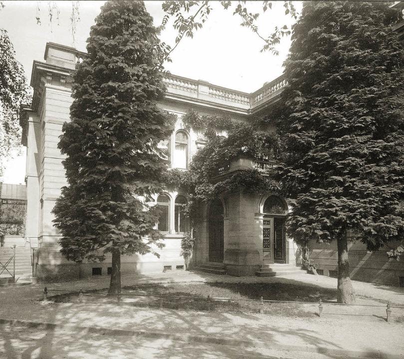 Das Haus in den 1930er Jahren.   | Foto: Archiv Familie Ritter
