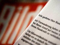 """Wulff lehnt Ver�ffentlichung von Mailbox-Nachricht an """"Bild"""" ab"""