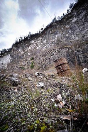 Der ehemalige Steinbruch von Niederrotweil