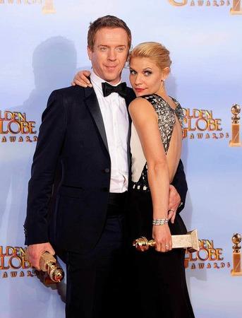 """Claire Danes und Damian Lewis wurden für ihre Rolle in """"Homeland"""" ausgezeichnet."""