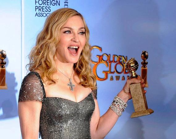"""S�ngerin Madonna erhielt den Globe f�r den besten Song in dem Film """"Masterpiece""""."""