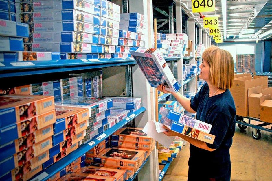 Im Jahr 2011 gesucht: 1150 Helfer in  der Lagerwirtschaft / im Transport (Foto: usage Germany only, Verwendung nur in Deutschland)