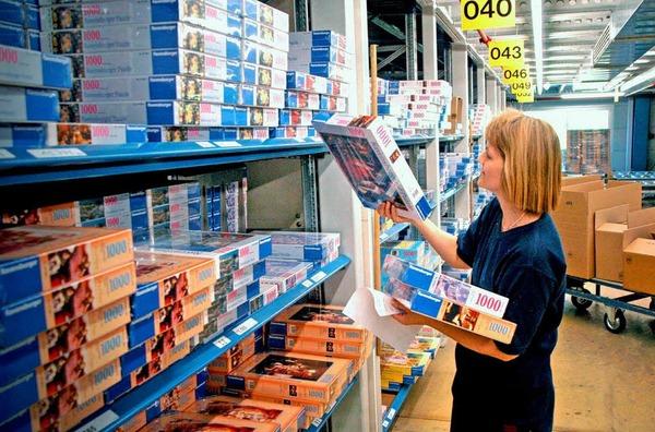Im Jahr 2011 gesucht: 1150 Helfer in  der Lagerwirtschaft / im Transport