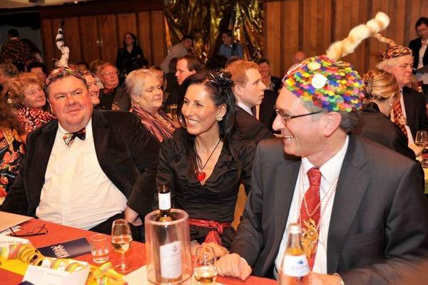 OB Dieter Salomon, seine Lebensgefährtin Helga Mayer und Christian Hodeige.