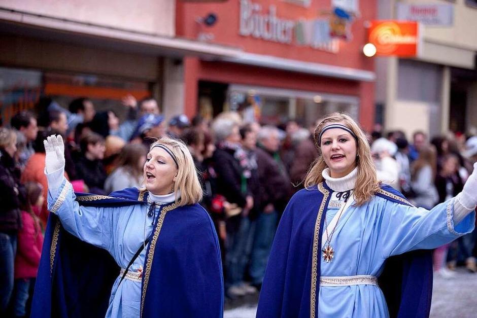 120 Gruppen oder 6500 Hästräger feiern in Herbolzheim (Foto: Janos Ruf)