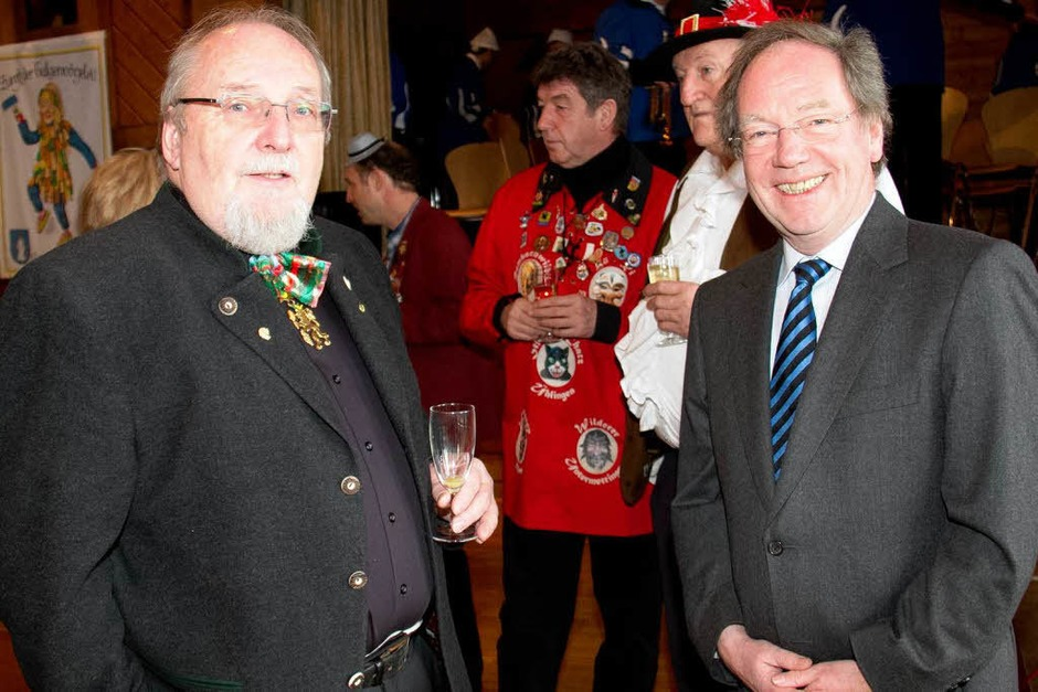 Schirmherr und Brauereichef   Thomas Schäuble und Klausdieter Kneisch aus Gaggenau (Foto: Wilfried Dieckmann)