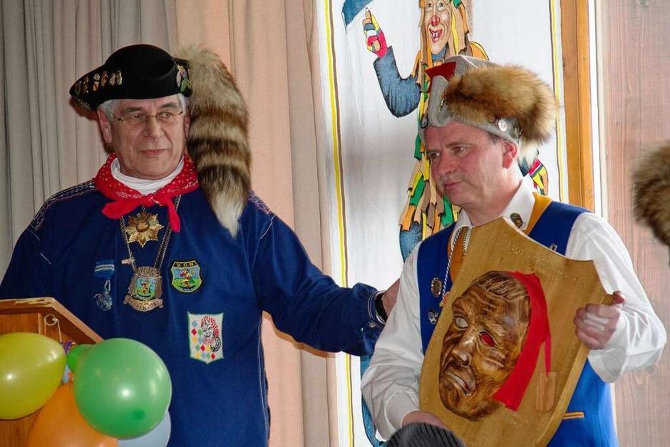 Gastgeschenk von Manfred Wolf (Vogtei Hochschwarzwald) (Foto: Wilfried Dieckmann)