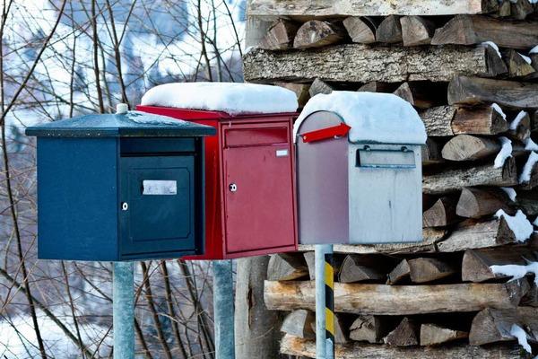 In manchen Ecken im M�nstertal ist der Gang zum Briefkasten mit Pantoffeln und Morgenmantel nicht mehr angeraten.