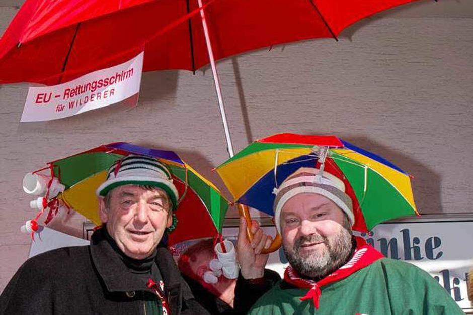 Die beiden Schirmherren Thomas (Fechtig) und Thomas (Fritz) (Foto: Wilfried Dieckmann)