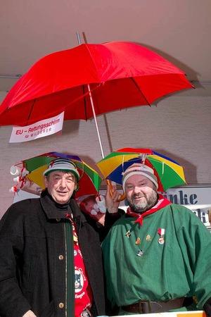 Die beiden Schirmherren Thomas (Fechtig) und Thomas (Fritz)