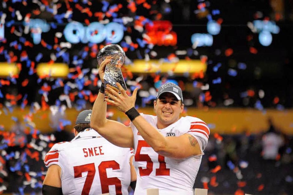 Sport und Show, Emotionen und Unterhaltung – der Super Bowl 2012. (Foto: dpa)