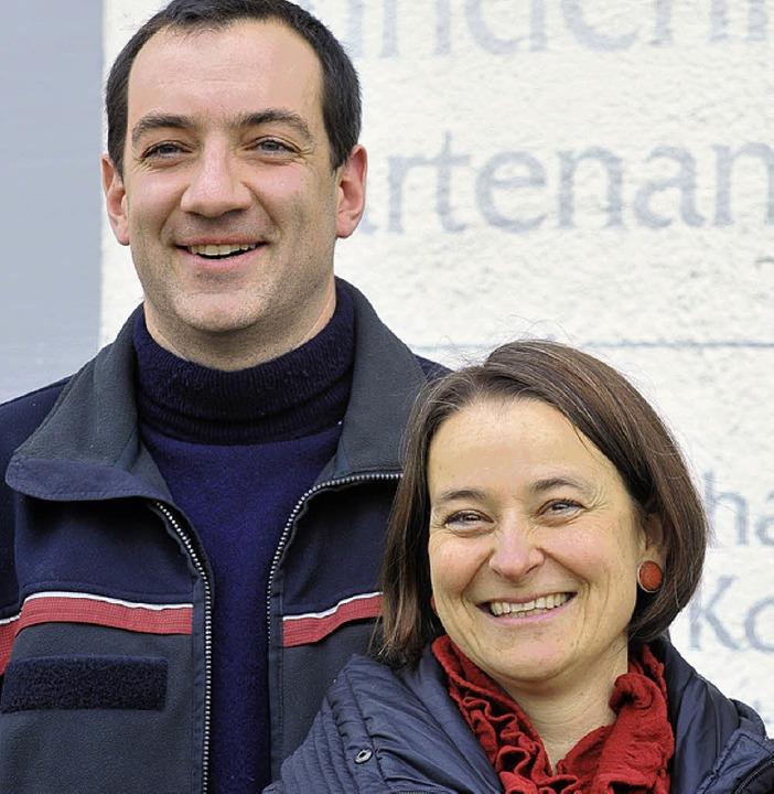 Berno Menzinger und Susanne Eckert    Foto: Michael Bamberger