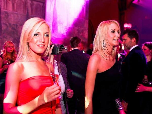 Die Miss Germany-Wahl 2012 wird mit einer glamourösen Party gefeiert.