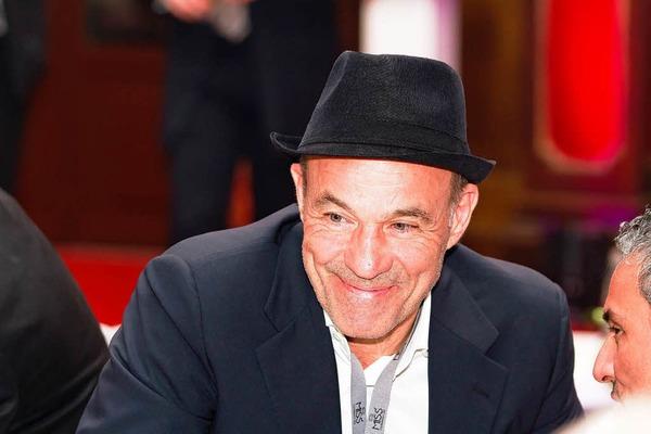 Unter den Partyg�sten: Der Schauspieler Heiner Lauterbach.