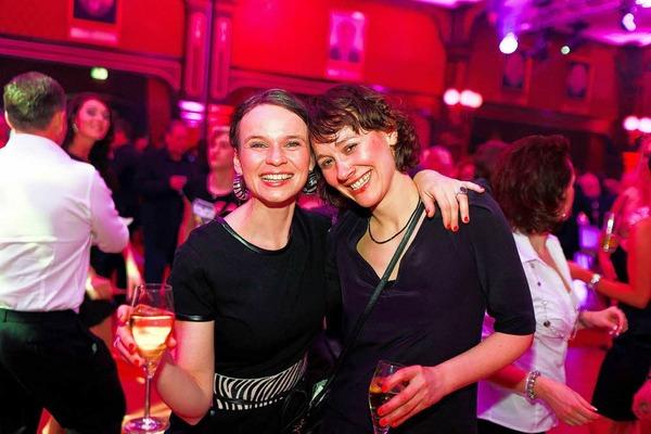 Die Miss Germany-Wahl 2012 wird mit einer glamour�sen Party gefeiert.