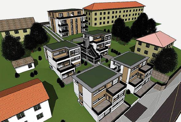 laufenburg ja zu mehrfamilienh usern badische. Black Bedroom Furniture Sets. Home Design Ideas
