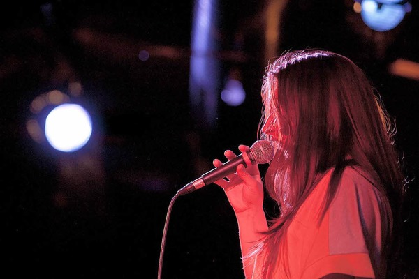 Joa beim Bandwettbewerb Rampe 2012 im Jazzhaus Freiburg.