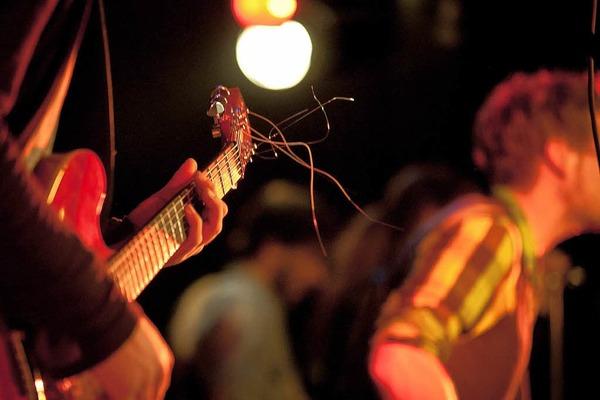Neo Rodeo beim Bandwettbewerb Rampe 2012 im Jazzhaus Freiburg.