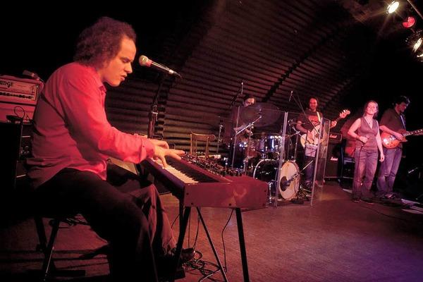 Boris Lau & Band beim Bandwettbewerb Rampe 2012 im Jazzhaus Freiburg.