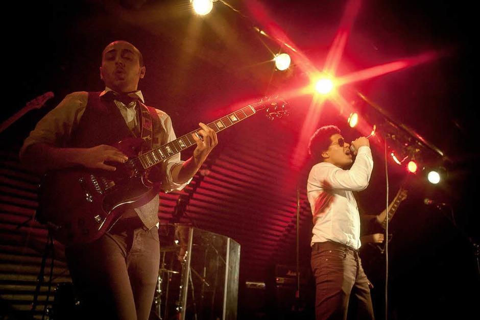 Room Service beim Bandwettbewerb Rampe 2012 im Jazzhaus Freiburg. (Foto: Janos Ruf)