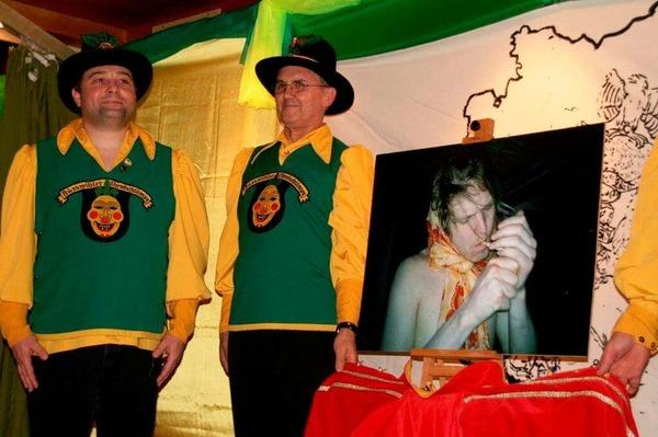 Ein witziges Unterhaltungsprogramm und gute Unterhaltung boten die Rüßwihler Narrenräte.