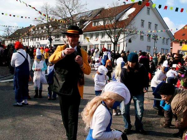Impressionen vom Fasnachtsumzug in Görwihl