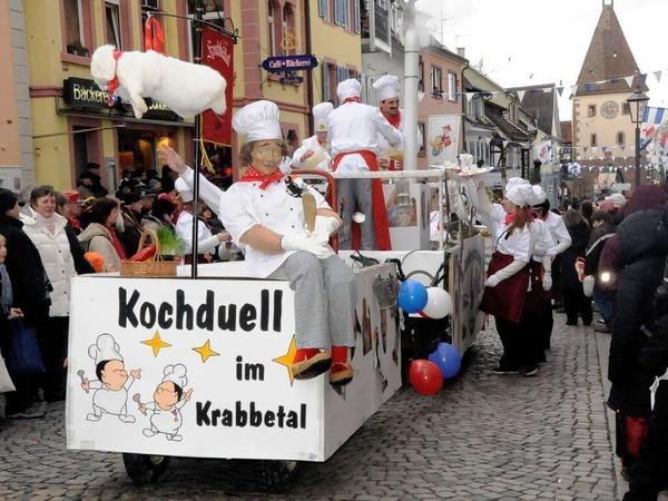 Das Krabbedal lädt zum Kochduell