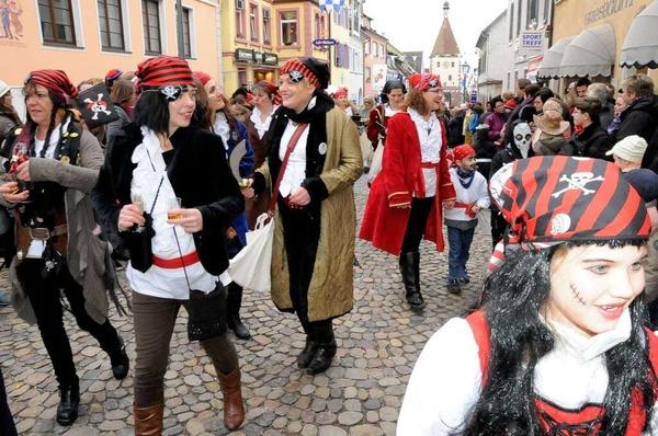 Die Piraten in Endingen kommen vom Bahnhof