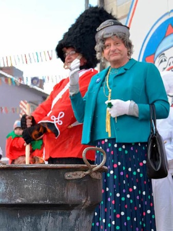 Die Queen in Bonndorf