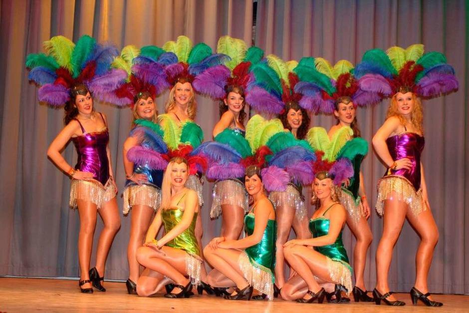 Brasilianisches Feeling - Die Orschweier Hornig Girls NZO (Foto: Charlotte Wittnebel)