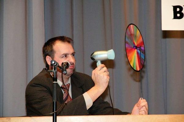 Bunter Abend in Ühlingen: Bürgermeister macht viel Wind