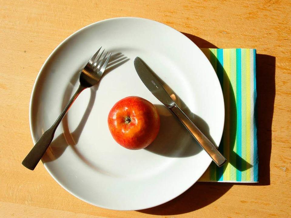 Karges Mahl zur Fastenzeit.  | Foto: Franz Dannecker