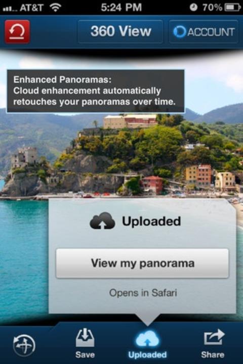 360-Grad-Bilder leicht gemacht - mit 360 Panorama.  | Foto: IDG