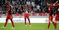 Entt�uschung beim SC Freiburg.
