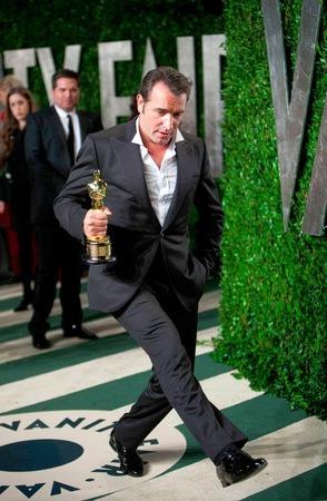 """Jean Dujardin bekam den Oscar als bester Schauspieler für seine Rolle in """"The Artist""""."""