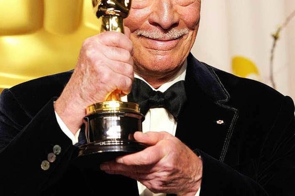 "Christopher Plummer, Oscar-Gewinner für die beste Nebenrolle in ""Beginners"". (Foto: AFP)"