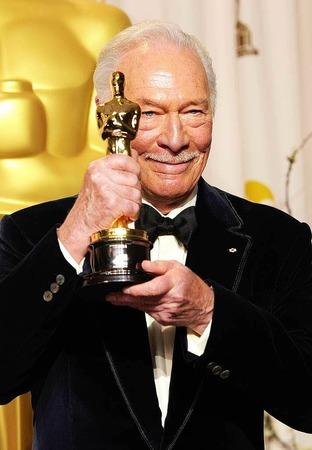 """Christopher Plummer, Oscar-Gewinner für die beste Nebenrolle in """"Beginners""""."""
