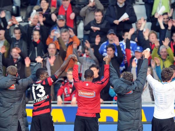 Der Sportclub �berzeugte beim 2:1-Sieg mit einer spielerischen und k�mpferischen Leistung.