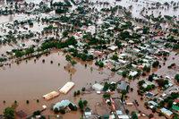 Fotos: Hochwasser bedroht zahlreiche St�dte in Australien