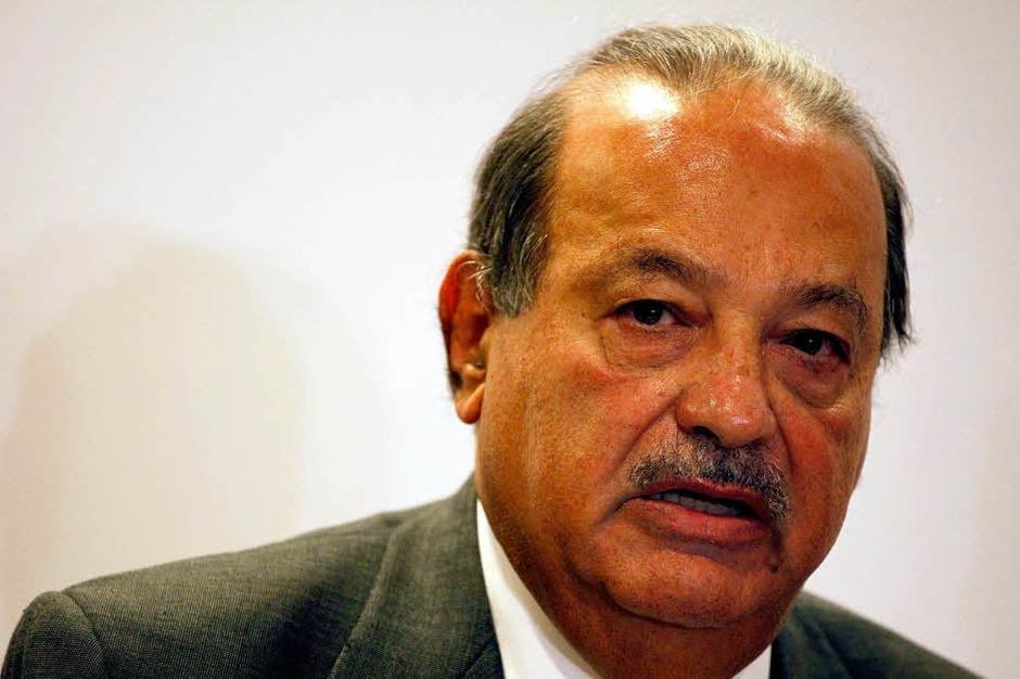 1. Carlos Slim Helu, 69 Milliarden Dollar, Telekommunikation, Mexiko (Foto: dapd)